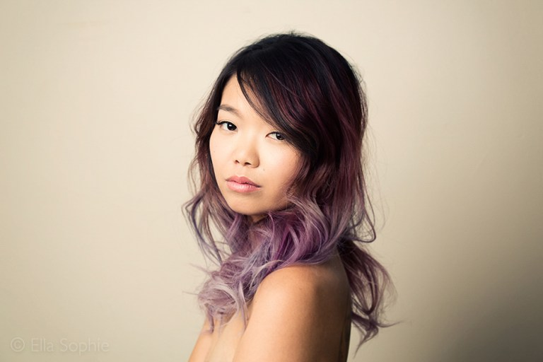 Asian beauty portrait, Oakland Photography Studio, Ella Sophie, natural beauty