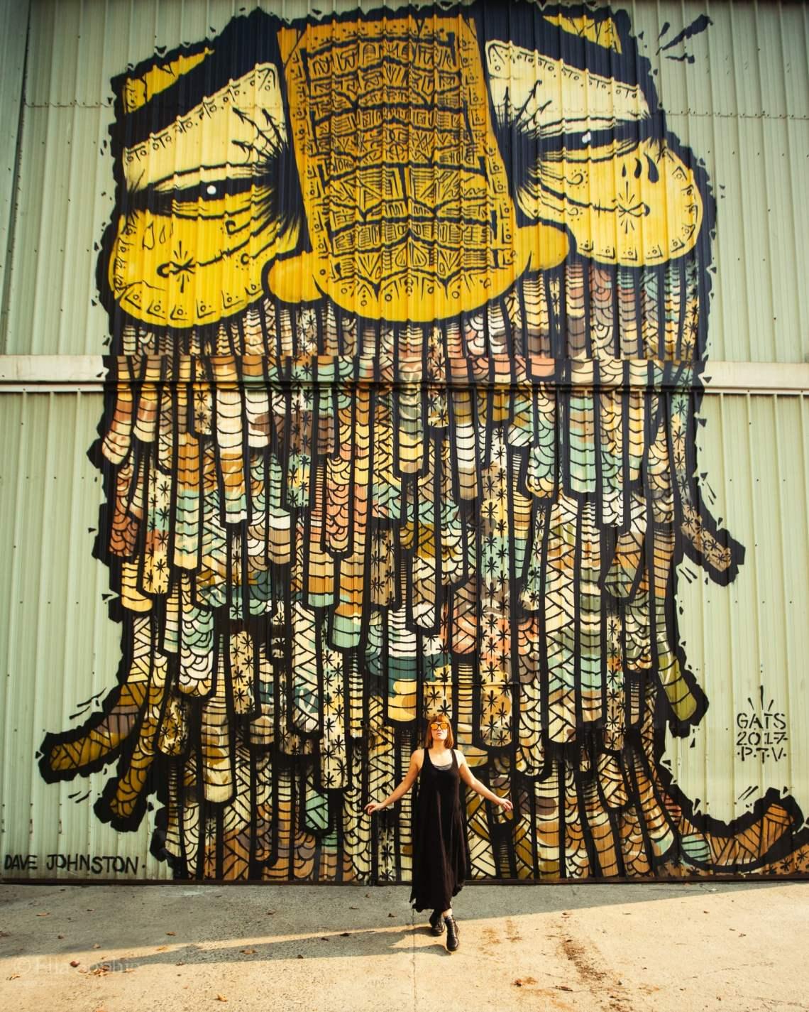 Oakland Murals, street portraits by photographer Ella Sophie