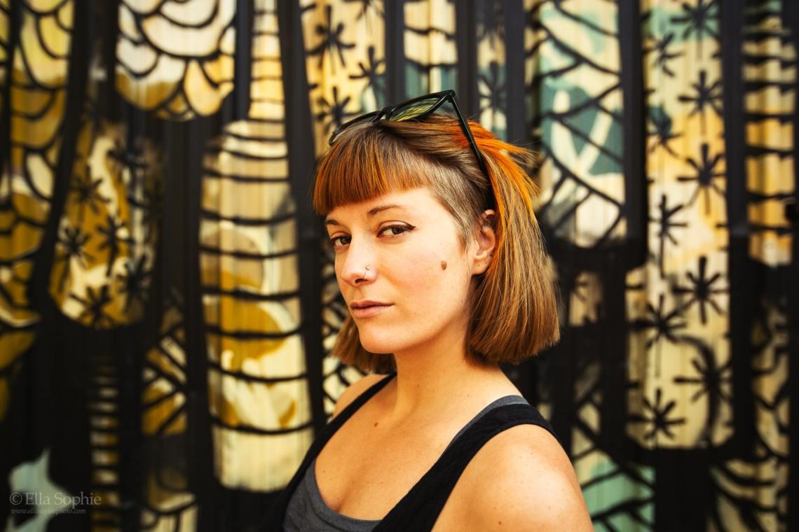 Portrait Photographer for Artists, Oakland. Photographer Ella Sophie.