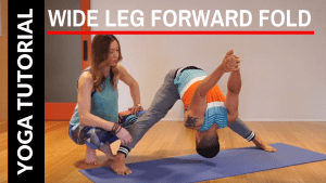 10 steps to a Wide Leg Forward Fold