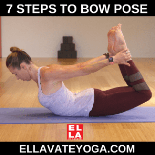 7 Steps To Bow Pose