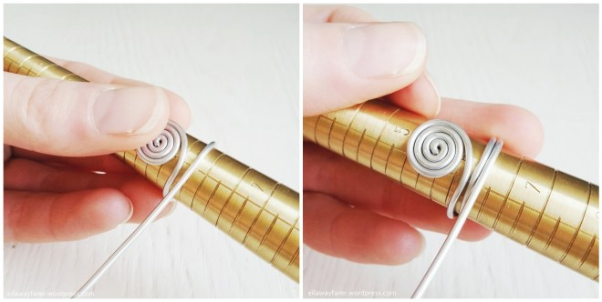 DIY Spiral Ring with Wire