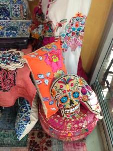 Skull Pillow Kissen