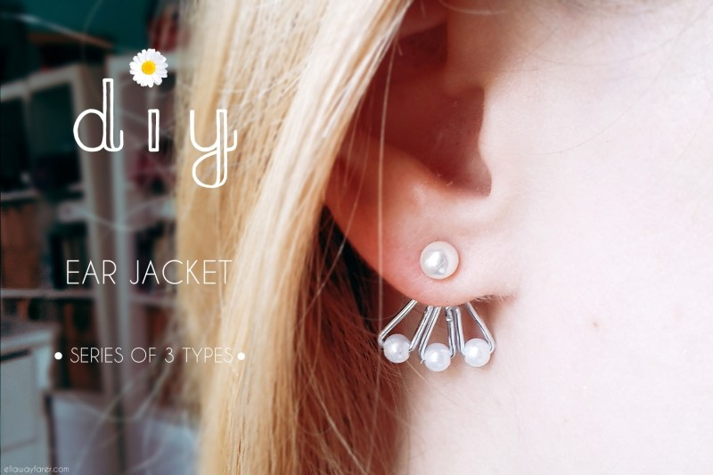 Ear Jacket DIY Pearls