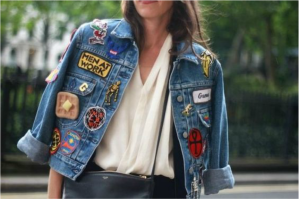 PATCHES Denim Jacket NY Fashion Week