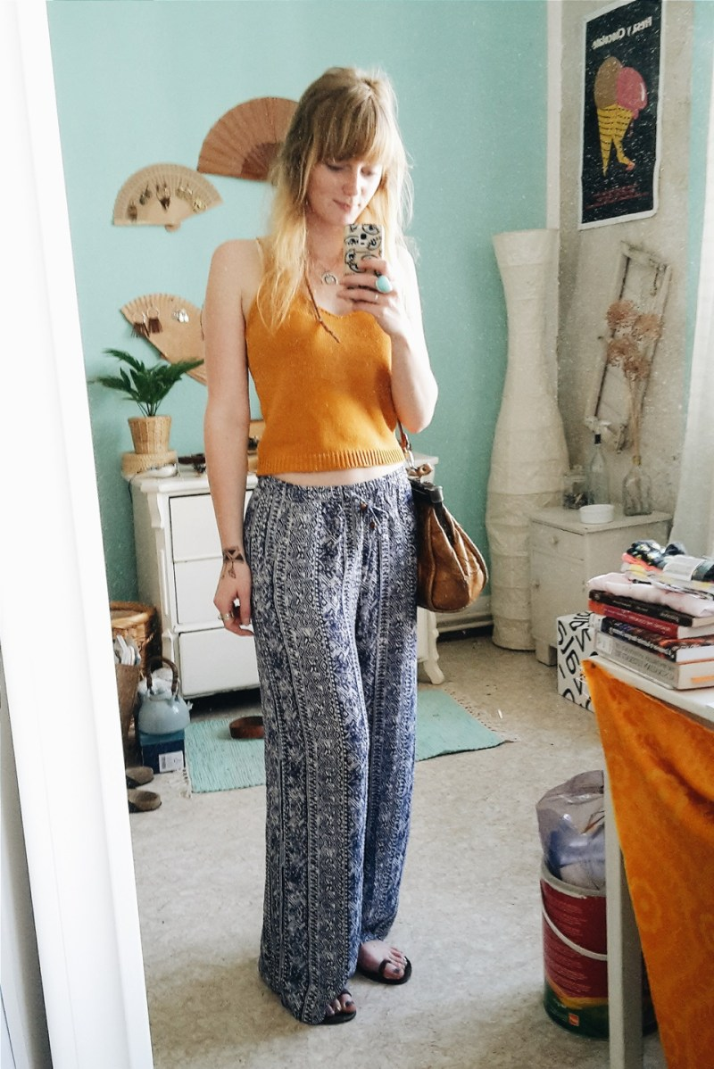 Sommer Outfit mit Palazzo Pants