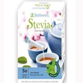Stevia con Inulina 50 sticks SteSweet
