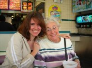 With my grandma in SoCal, December 2006 (halfway through my junior year in college)