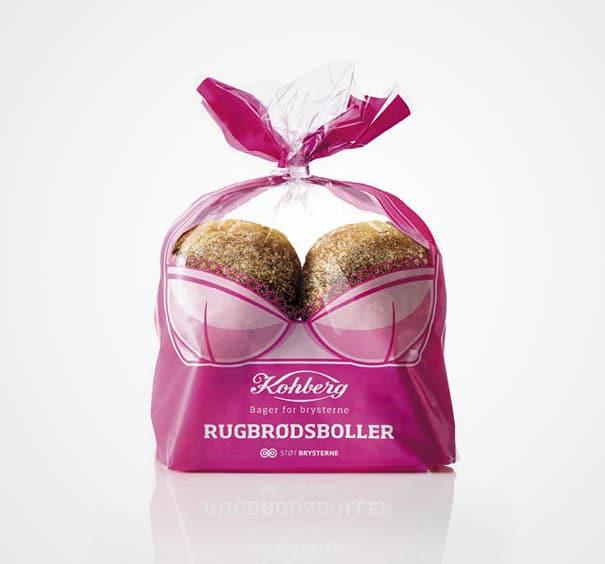packaging creativo de productos de panadería