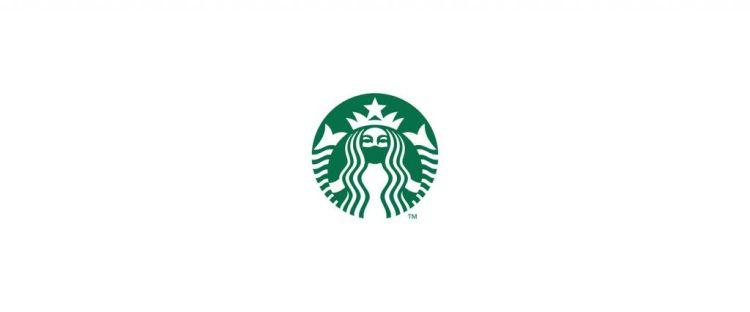 Logo de Starbucks durante el coronavirus