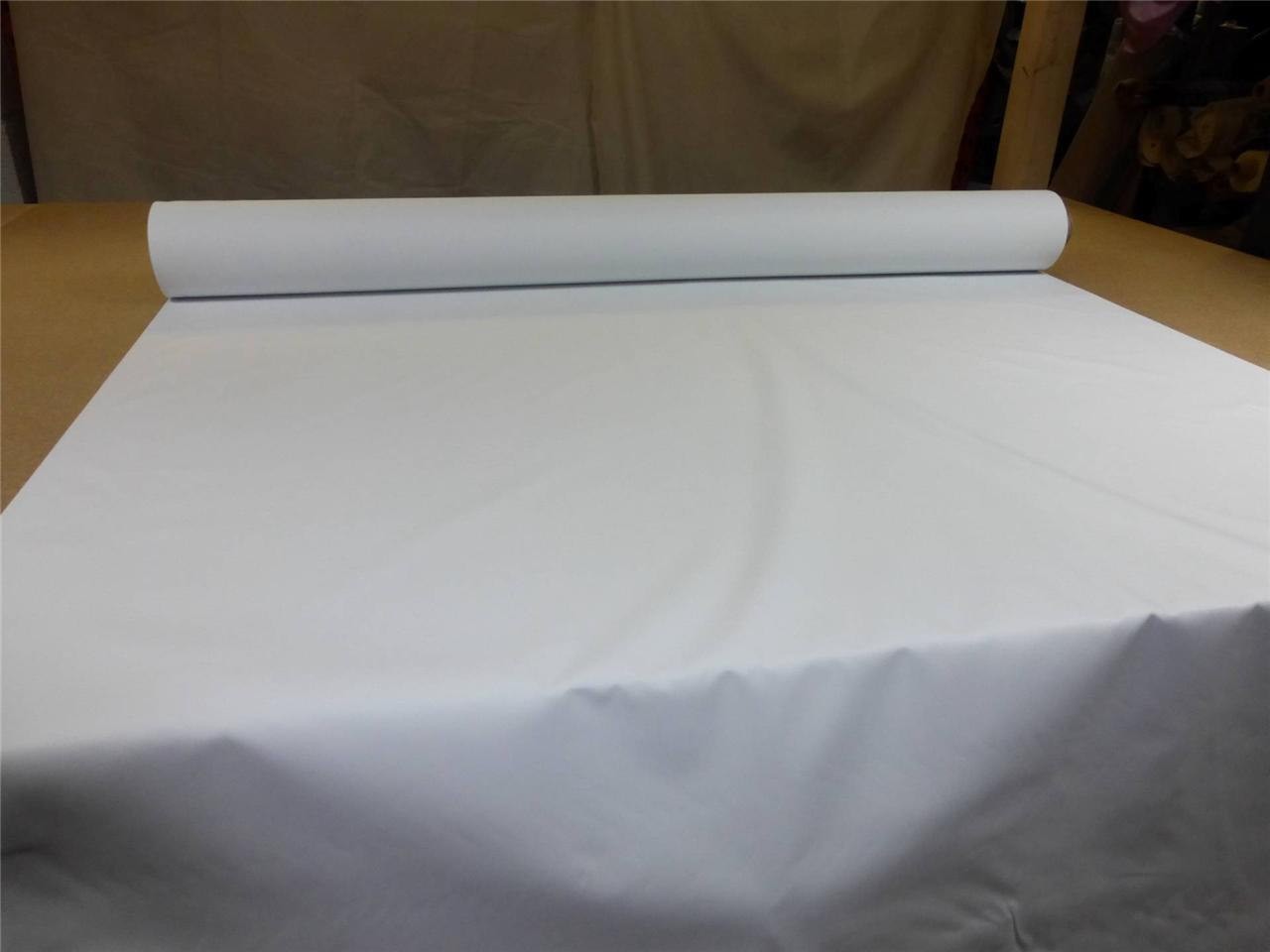white 54 wide thermal blackout curtain lining fabric 3 pass
