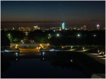 Blick über den See der Tränen zum Stadtzentrum