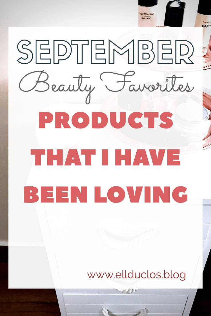 September beauty must have products