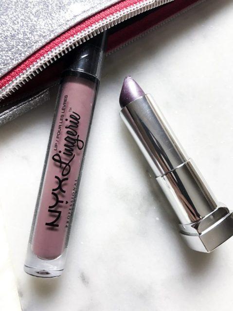 October Lip Favorites - NYX Lingerie Line