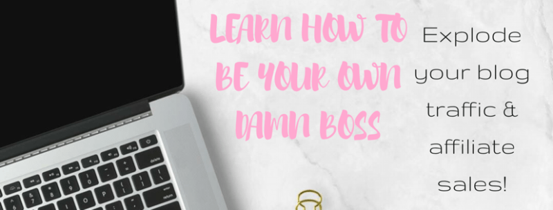 Ecourse - Be your own damn boss! Explode your traffic