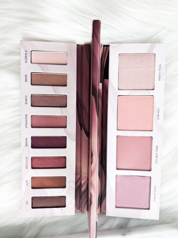 Back Talk Eye & Face Palette by Urban Decay - Review - Beauty Review and thoughts. Makeup Swatches