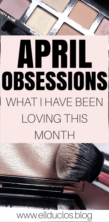 April is coming to an end so today I am sharing with you my April Obsessions! My favorite products, music, shows + more!