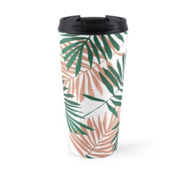 Boss Girl Palm Travel Mug