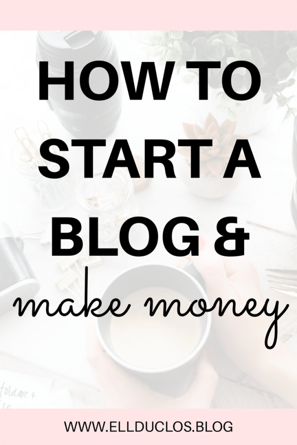 How to start a blog and make money! A money making blog guide.