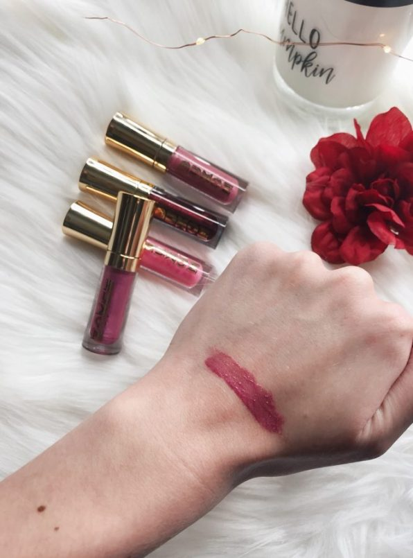 BUXOM Cosmetics lip plumping polishes reviews and swatches. Lip products you need.