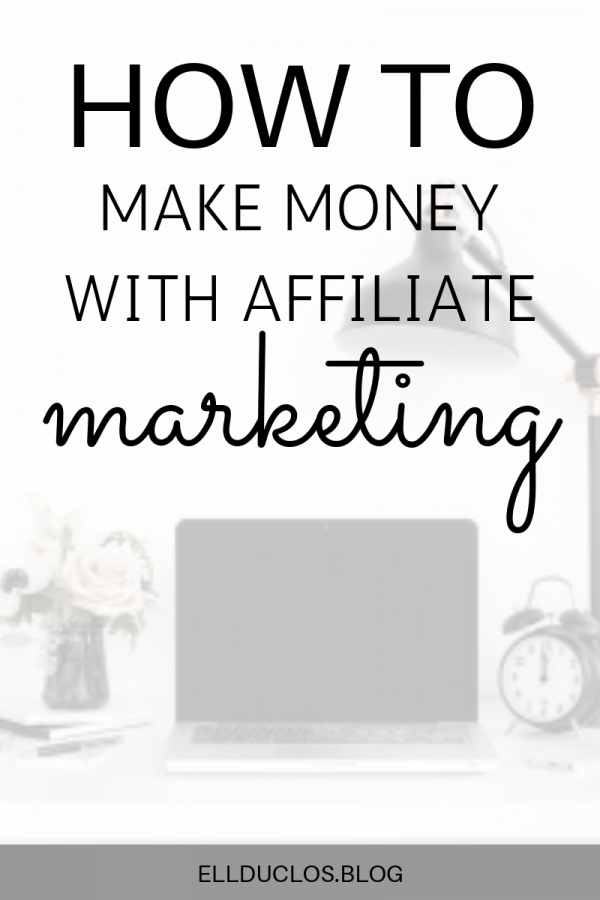 How to make money with affiliate marketing strategies.