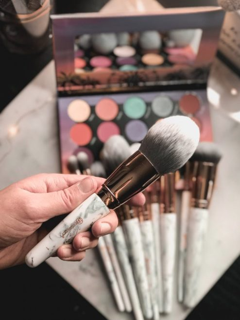 BH Cosmetics marble makeup brush set that you need!