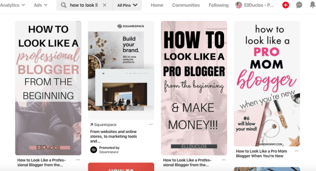 Pinterest tips to grow blog traffic.