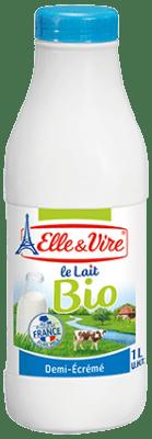 Elle Et Vire.com/fr : vire.com/fr, Semi-skimmed, Bottles