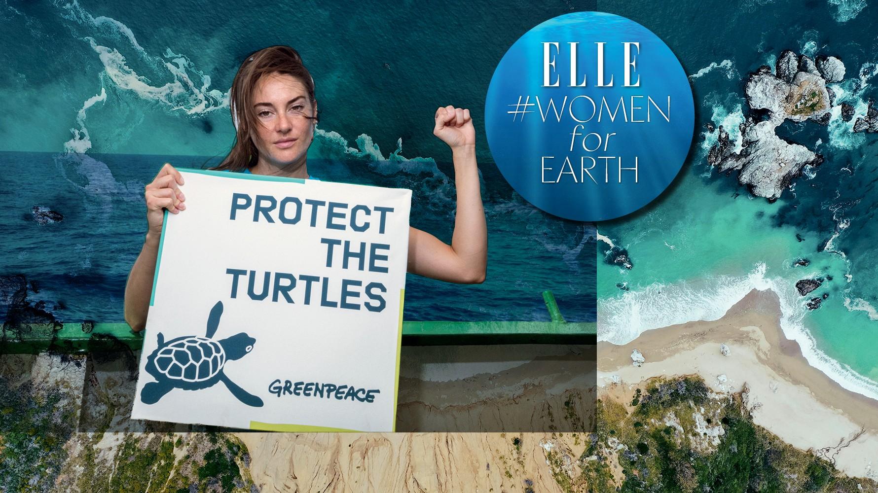 Το νέο ELLE Απριλίου που κυκλοφορεί είναι αφιερωμένο στο περιβάλλον #WomenforEarth
