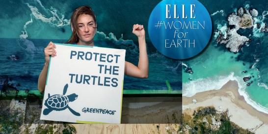 Stand For Earth: Οι σταρ που μάχονται για το περιβάλλον #WomenforEarth Με αφορμή την Παγκόσμια Ημέρα Γης που φέτος γιορτάζεται για 50η χρονιά, τo ELLE συναντά τους πιο δραστήριους eco-celebrities και µοιράζεται µαζί τους το πάθος τους για τη διάσωση της φύσης.