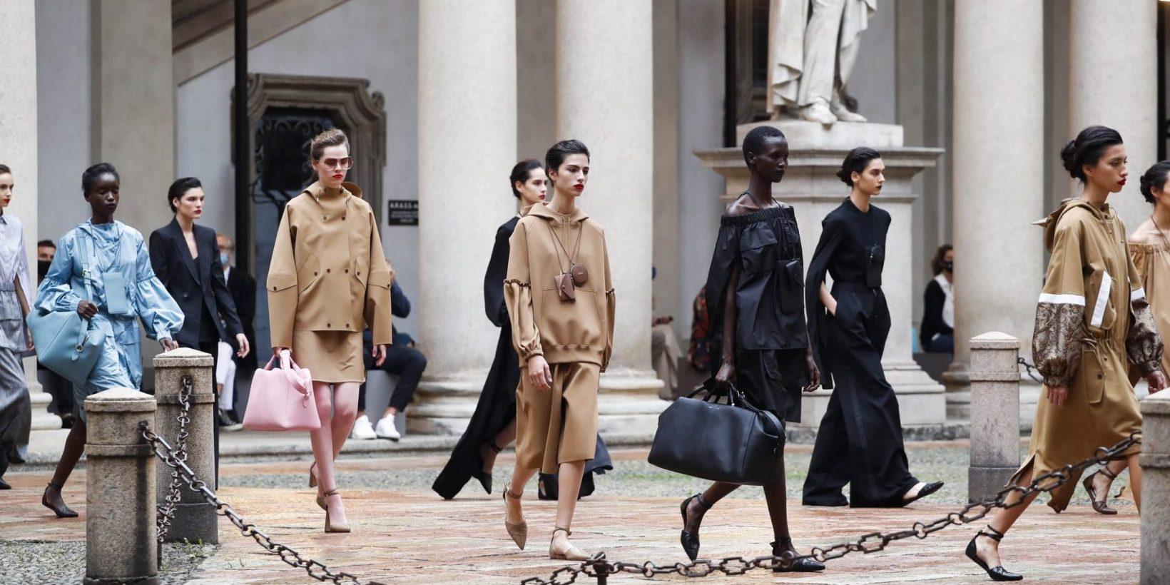 Το show του οίκου Max Mara στην Εβδομάδα Μόδας του Μιλάνου