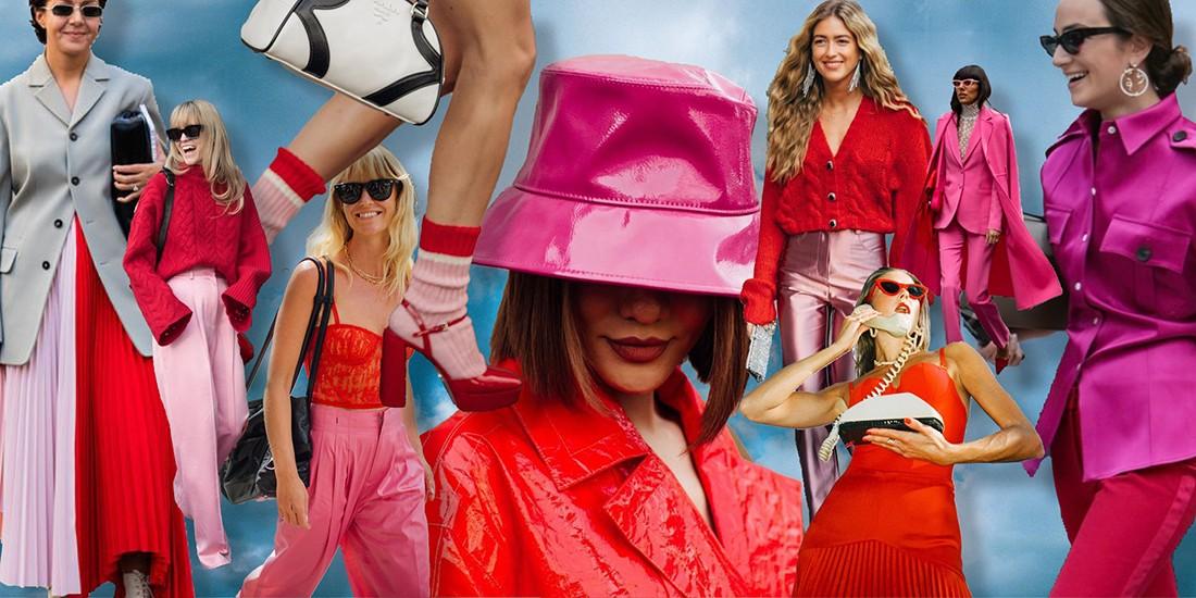 Pink & Red: Ο χρωματικός συνδυασμός για ένα φθινόπωρο το κάτι άλλο!
