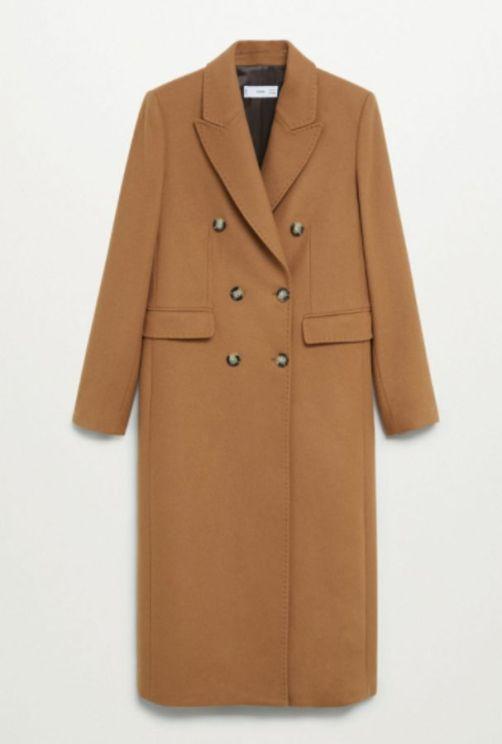 Καμηλό παλτό, Mango.