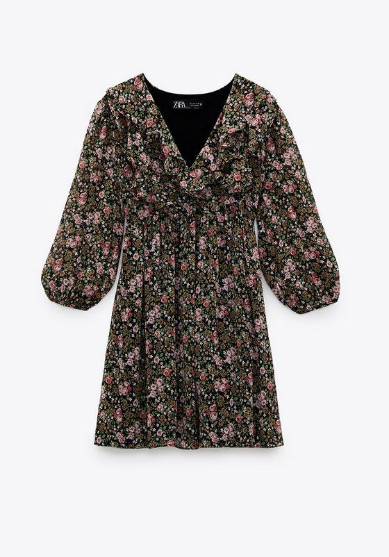 Φλόραλ φόρεμα, Zara.