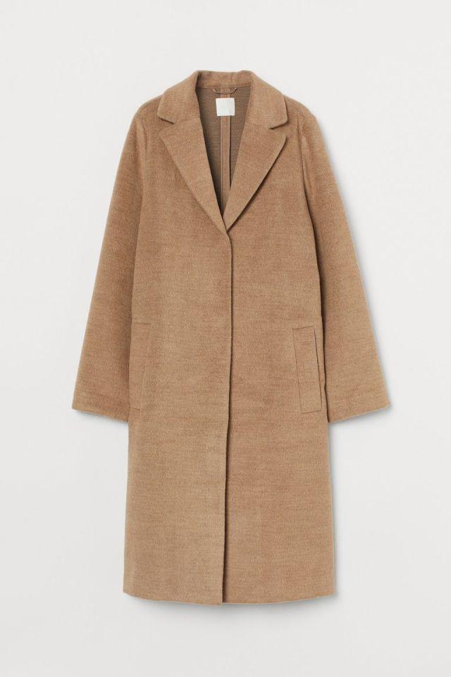 Καμηλό παλτό, H&M.