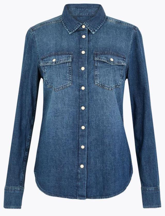 Τζην πουκάμισο, Marks & Spencer.