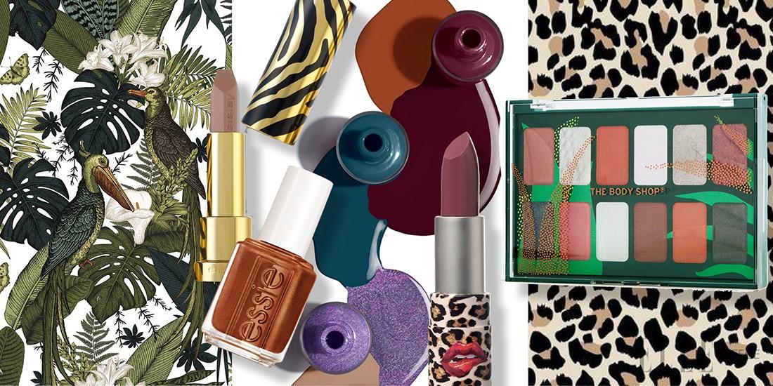 Τα πιο fashionable προϊόντα μακιγιάζ έχουν animal prints