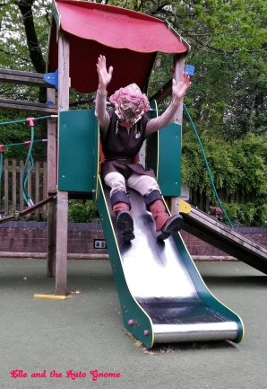 Plo Koon having some fun