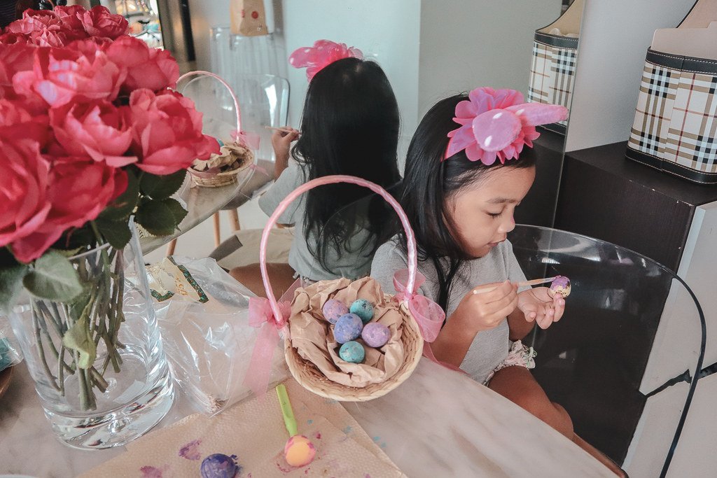 Egg painting for Easter 2019