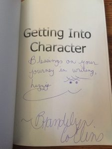Getting into Character Signed