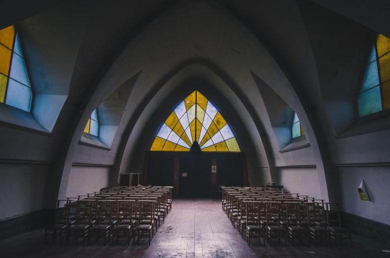 verlassene Kirche