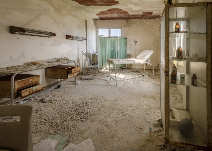 verlassenes Krankenhaus