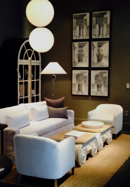 small scale living restoration hardware