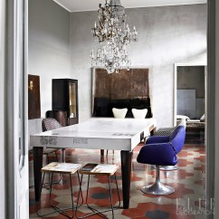Modern Living Room Chairs Uk Furniture Chair Dining Decoration Ideas And Design Inspiration Elle Crystal Chandeliers Create Glamour In This Italian Home Clusters Of Lights Hang Above The