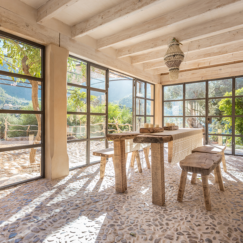 A bohemian winter holiday home in Mallorca  ELLE Decoration UK