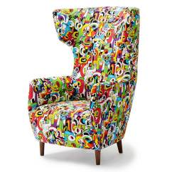 Wingback Chair Uk Stool Kitchen Win A Dare Studio Elle Decoration