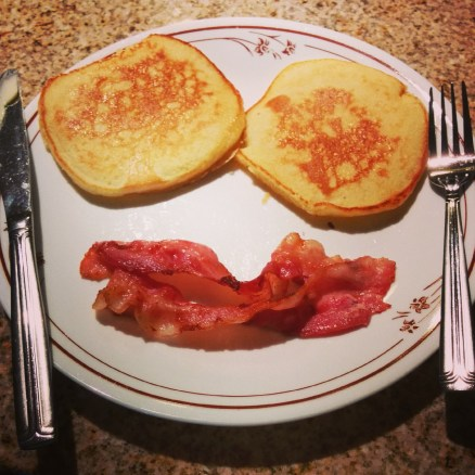We'll start off cheerful with this breakfast smile