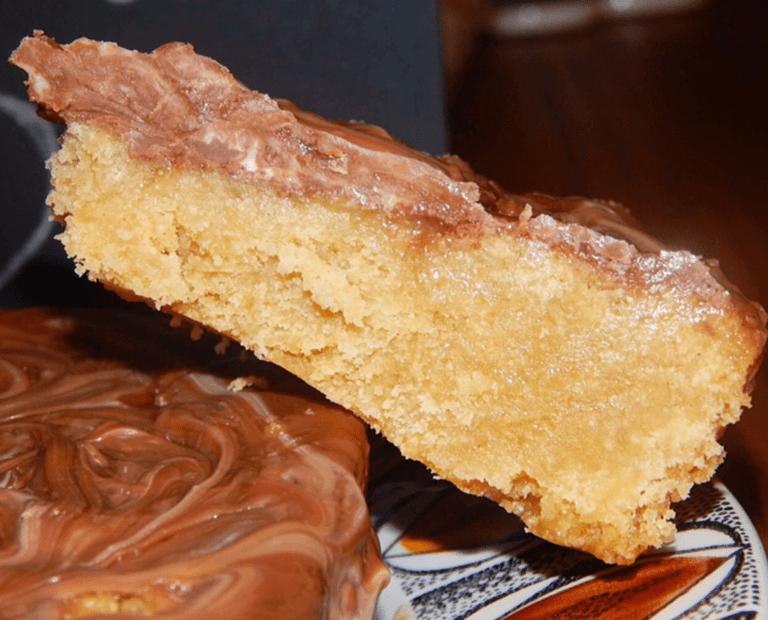 Chocolate & Toffee Shortbread – Heaven!