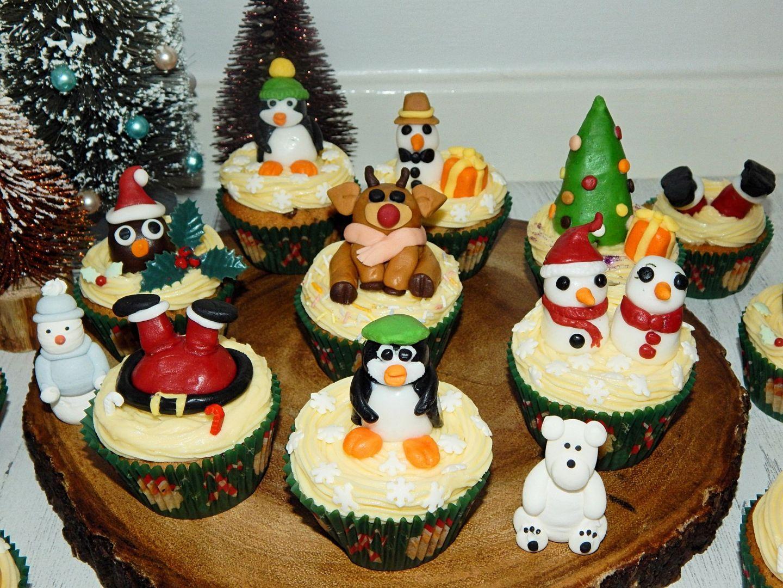 Mixed Spice Christmas Cupcakes | BLOGMAS, Day 4!