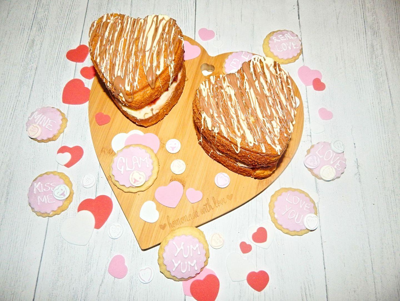 Valentines Day Inspired Victoria Sponge Cake Recipe!
